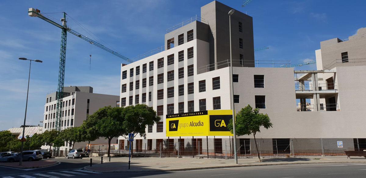 Edificio 167 viviendas alicante