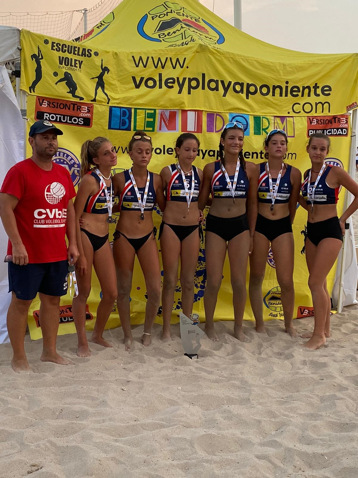 voley playa grupo alcudia